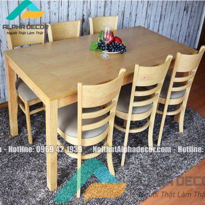 Bộ bàn ăn 6 ghế